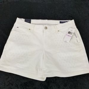 SPERRY TOP-SIDER Womens 5 Pocket White Shorts Wome